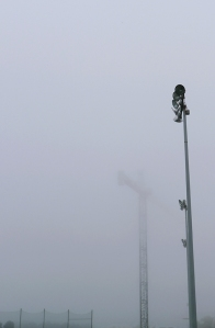 USE lamp post and crane fog NU