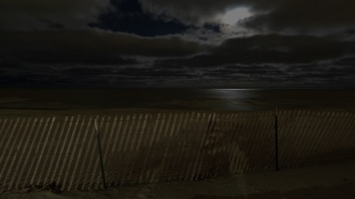fb moonlit Lee St Beach