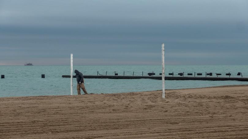 FB volleyball stalks
