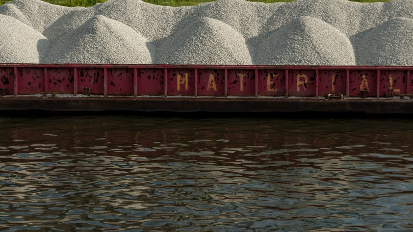 material barge