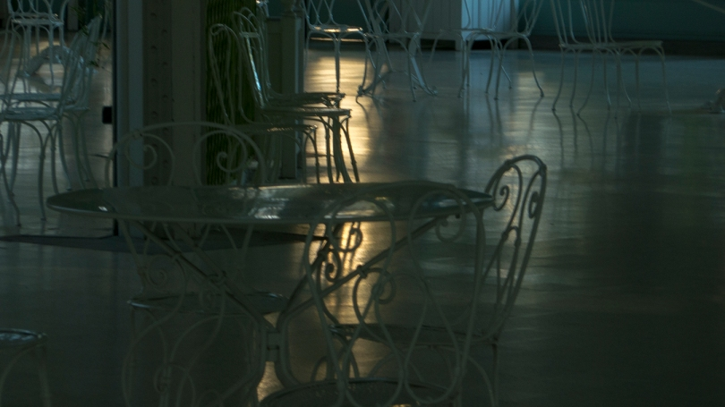 chairs and light 2