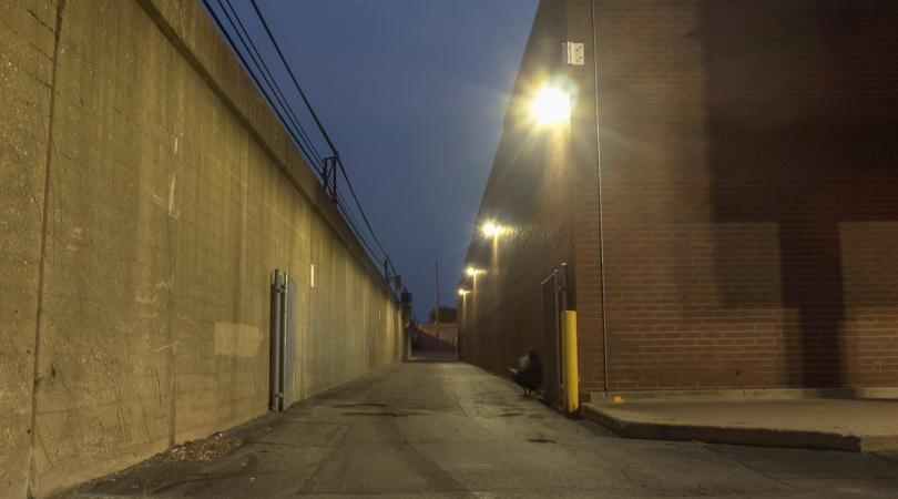 smoker, WF alley 2