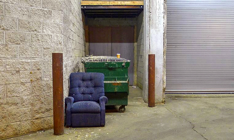 alley couch coffee cup