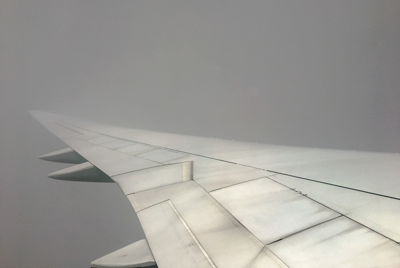 FB airplane wing