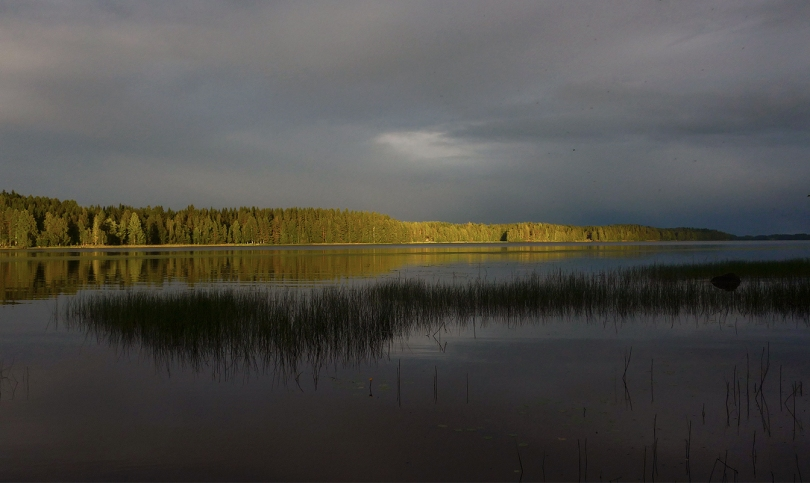 finnish lake Kyyvesi